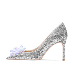 Women's Stiletto Heel Pumps With Rhinestone shoes