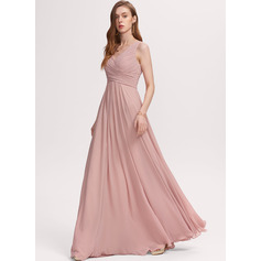 V-Neck Sleeveless Maxi Dresses (293250308)