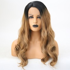 Deep Wavy Synthetic Hair Lace Front Wigs 350g