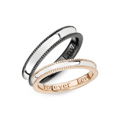 Sterling Silver Couple's Rings (289229812)