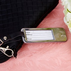 Heart Shaped Zinc Alloy Luggage Tags