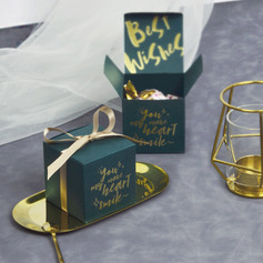 Elegant Pearl Paper Favor Boxes & Containers