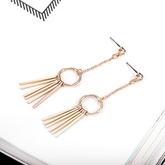 Unique Alloy With Gold Plated Women's Fashion Earrings