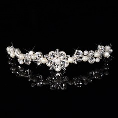 Gorgeous Rhinestone/Alloy/Imitation Pearls Tiaras