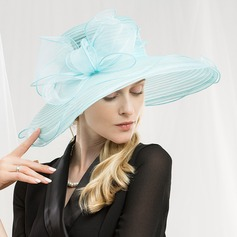 Ladies' Fashion/Glamourous/Unique/Eye-catching/High Quality/Artistic Organza Floppy Hat/Kentucky Derby Hats