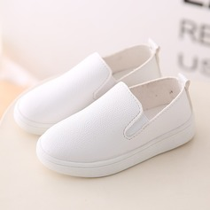 Girl's Round Toe Loafers & Slip-Ons Leatherette Flat Heel Flats Sneakers & Athletic