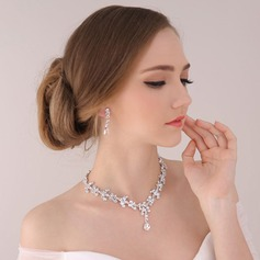 Bride Gifts - Beautiful Classic Alloy Rhinestones Jewelry Set