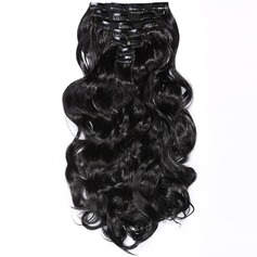 Loose Synthetic Hair Clip in Hair Extensions 7pcs 150g