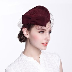 Ladies' Beautiful With Tulle Beret Hat