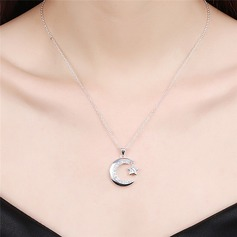 Lovely Alloy Rhinestones With Rhinestone Ladies' Fashion Necklace