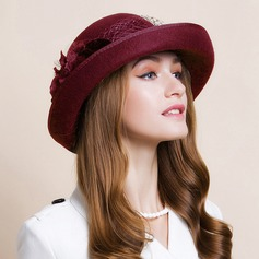 Ladies ' Nice Uld Bowler / Cloche Hat