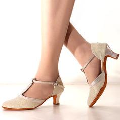 Femmes Pailletes scintillantes Talons Latin Chaussures de danse