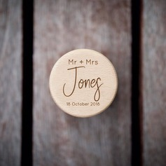 Chic/Personalized Wood Ring Box