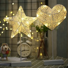 Love star shape decoration table lamp
