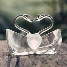 """""""Love Story""""/Cute Animal Lovely Birds Crystal Creative Gifts With Ribbons"""