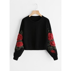 Broderie Coton Sweat-shirts Sweat-shirts (1001157274)
