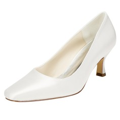 Women's Satin Stiletto Heel Pumps With Others