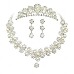 Elegant Alloy/Imitation Pearls Ladies' Jewelry Sets
