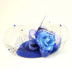 Ladies Beautiful Feather/Lace/Silk Flower/Velvet Forehead Jewelry/Hats