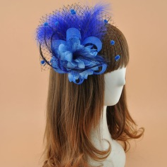 Ladies' Elegant Polyester With Feather Fascinators (196122287)