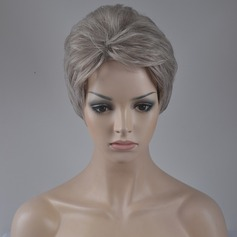 Straight Synthetic Hair Capless Wigs 140g