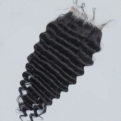 4A Non remy Body Human Hair Closure (Sold in a single piece) 100g