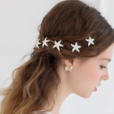 Gorgeous Rhinestone/Alloy Hairpins (Set of 3)