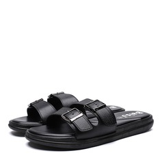 Men's Leatherette Casual Men's Slippers (263208042)