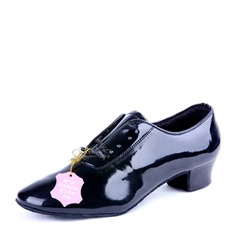 Men's Patent Leather Latin Ballroom Dance Shoes