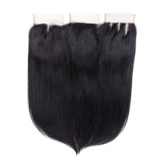 "4""*4"" 5A Straight Human Hair Closure (Sold in a single piece)"