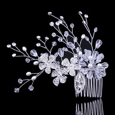 Special Crystal/Rhinestone/Alloy/Imitation Pearls Combs & Barrettes (Sold in single piece)