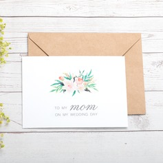Bride Gifts - Elegant Paper Wedding Day Card