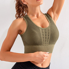 Modern/Contemporary Simple Classic Spandex Sport Bras