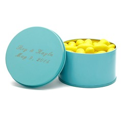 Personalized Simple Design Tins Favor Tin
