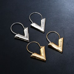Unique Alloy Ladies' Fashion Earrings (Set of 2)