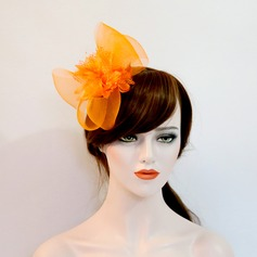 Ladies Beautiful Net Yarn/Silk Flower Forehead Jewelry/Hats