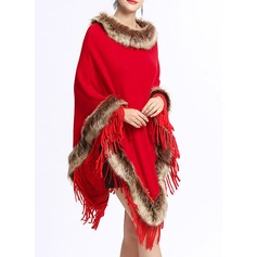 Cold weather Knitting Poncho