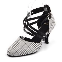 Vrouwen Satijn Sandalen Latijn Dansschoenen