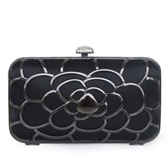 Unique Silk/Stainless Steel Clutches