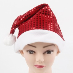 """Happy Time"" Sequin Christmas Hat"