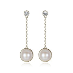 Ladies' Elegant Pearl Pearl Earrings For Bride/For Bridesmaid/For Friends