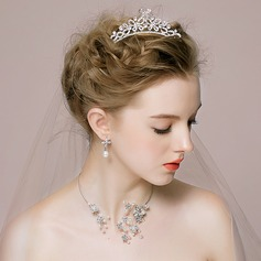 Nice Alloy With Pearl/Rhinestone/Beads Women's/Ladies' Jewelry Sets