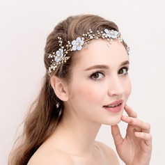 Ladies Charming Alloy/Imitation Pearls Headbands