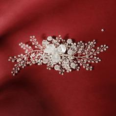 Ladies Beautiful Rhinestone/Imitation Pearls Headbands With Rhinestone/Venetian Pearl (Sold in single piece)