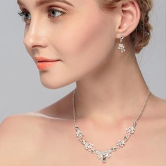 Charming Alloy With Rhinestone Women's/Ladies' Jewelry Sets
