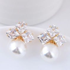Beautiful Alloy Zircon Women's Fashion Earrings
