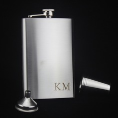 Flasks Classic Stainless Steel Vintage Style Personalized Gifts