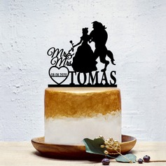 Personalized Classic Couple/Sweet Love Acrylic Cake Topper