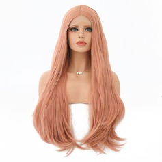 Body Wavy Synthetic Hair Lace Front Wigs 360g