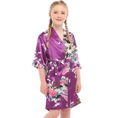 Flower Girl charmeuse Girl Robes